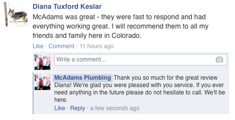 Broomfield Plumbers Review