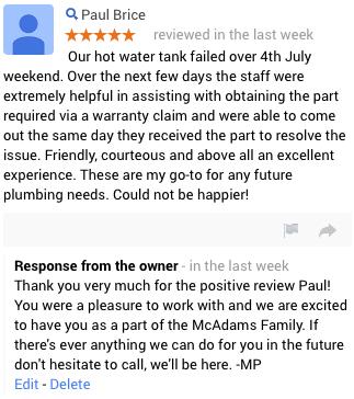 Broomfield Plumbing Review
