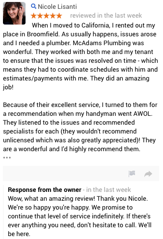 Plumbing Review Broomfield