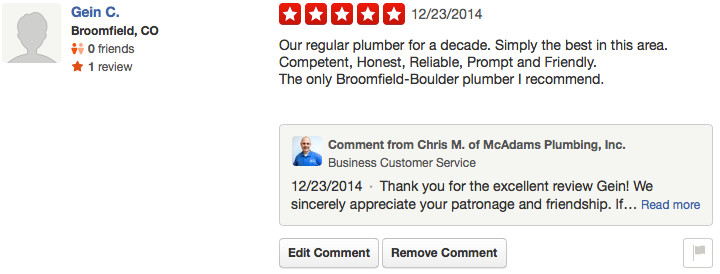 Gein Plumbing Review