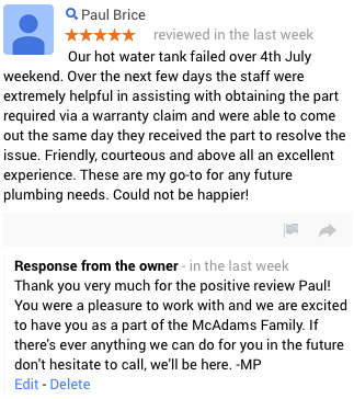 Broomfield Plumbing Review